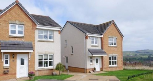3 Bedroom New Build in Lesmahagow