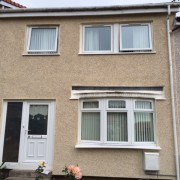 External Wall Insulation Glasgow After Work Montgomeriston Pl