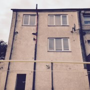 External Wall Insulation Glasgow Before Work Langlands Terrace3